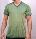 EVERGREEN MIXED V-NECK