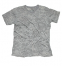 GREY V-NECK BURNOUT