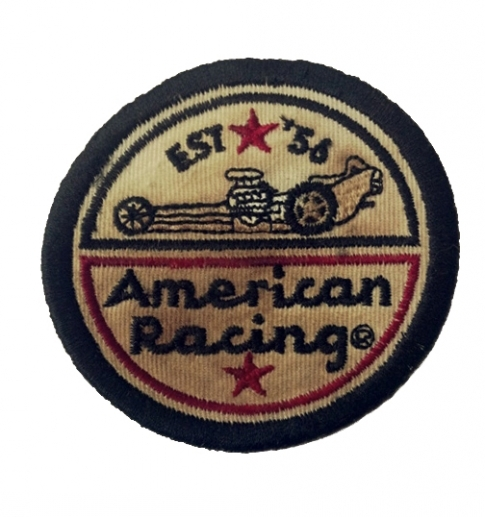 AMERICAN RACING DRAGSTER PATCH