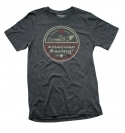 AMERICAN RACING CIRCLE DRAGSTER HEATHER  TEE